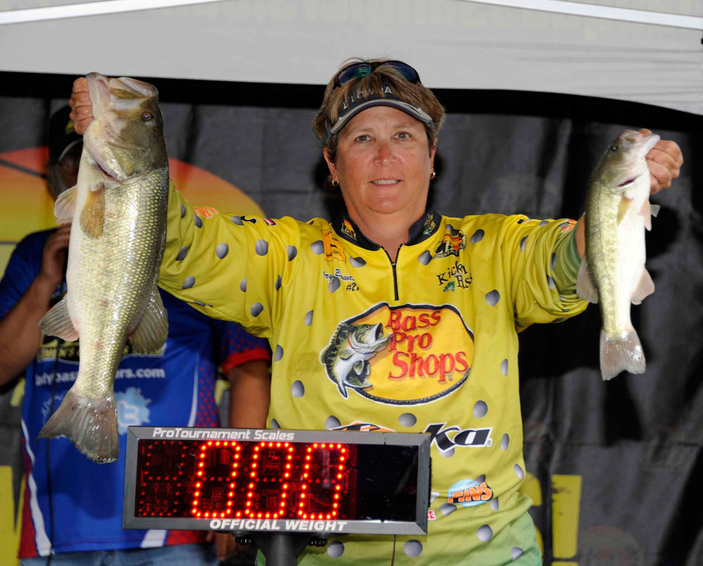 Cheryl Bowden  North Richland Hills, TX Lady Bass Classic Champion 2016