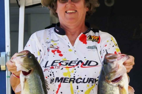 The Pro Champion 2017 is Lynda Gessner of Hot Springs, Arkansas winning with 35.38lbs