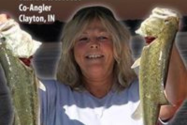 2013 Co-Angler Kim Martin