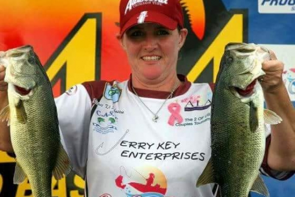 2012 Co-Angler Renee Key-Johnston